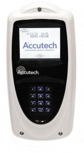 The Accutech LS 2400 touch-screen display