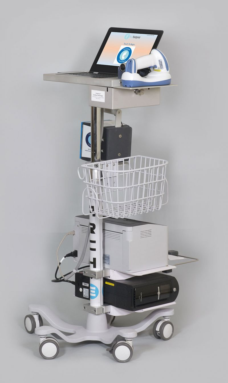 Certascan Footprint Scanner